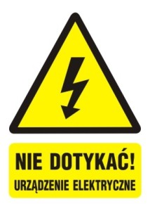 nie-dotykac-urzadzenie-elektryczne-tabliczka